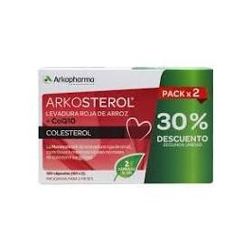 Arkopharma DUPLO Arkosterol Levadura Roja de Arroz+CoQ10 120caps.