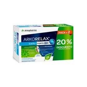 Arkorelax Sueño Forte 8h Pack x 2 (60 cápsulas).