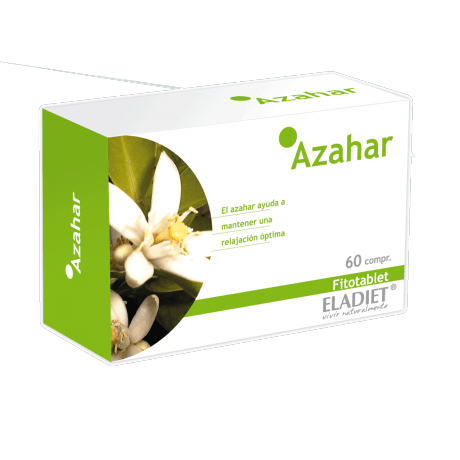 Eladiet Fitotablet Azahar (60 comprimidos de 330 mg.)