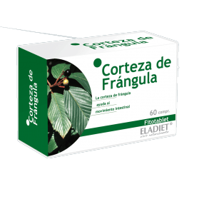 Eladiet Fitotablet Corteza de Frangula (60 comprimidos 330 mg.)