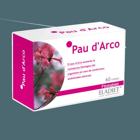 Eladiet Fitotablet Pau D'Arco (60 comprimidos 330 mg.)