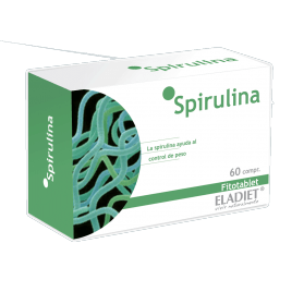 Eladiet Fitotablet Spirulina (60 comprimidos 330 mg.)