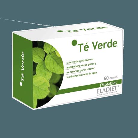 Eladiet Fitotablet Te Verde (60 comprimidos 330 mg.)