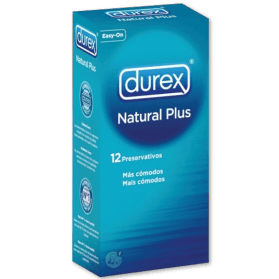 Durex Natural Plus (12 unidades.)