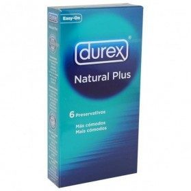 Durex Natural Plus (6 unidades.)