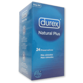 Durex Natural Plus (24 unidades.)