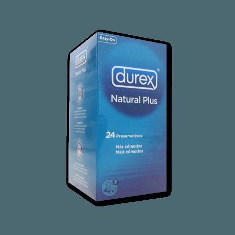 Durex Natural Plus (24 unidades.)