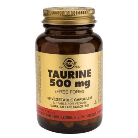 Solgar Taurina 500mg (50 capsulas.)