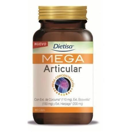 Dietisa Mega Articular (60 capsulas.)