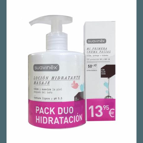 Suavinex Pack Duo Hidratacion (Locion Hidratante 400 ml + Crema Facial)
