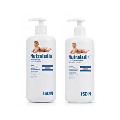 Nutraisdin Pack (Gel-Champu 500 ml. + Locion Hidratante 500 ml.)