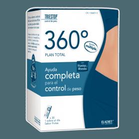Eladiet 360º Triestop 30 Sobres Plan Total Control de peso
