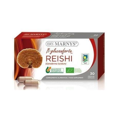 Marnys B Glucanforte Mix (Reishi Shiitake y Maitake) (30 cápsulas)