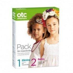 Otc Antipiojos Pack Loción Sin Insecticida 125 ml. + Acondicionador desprende liendres 125 ml. (Sin insecticida)