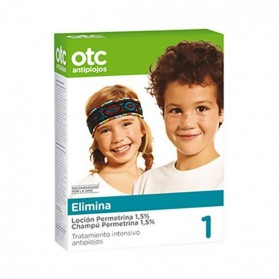 Otc Antipiojos Pack Loción 125 ml. + Champú 125 ml. (Permetrina 1,5 %)