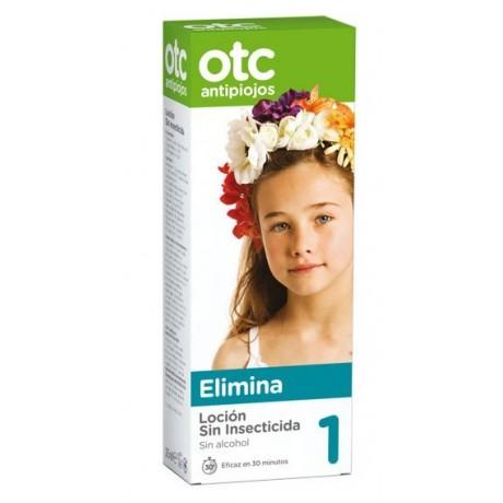 Otc Antipiojos Loción Sin insecticida Sin alcohol PASO 1 (125 ml.)