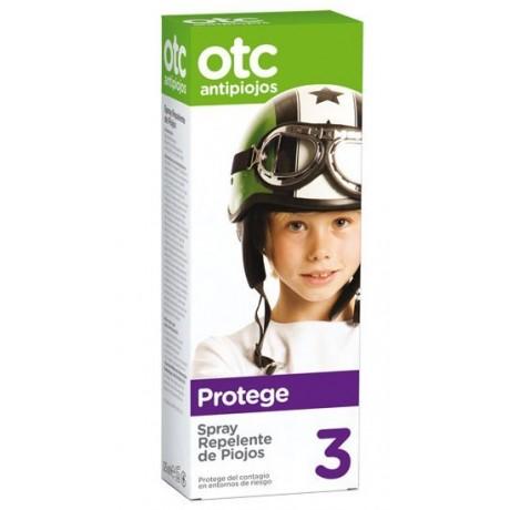 Otc Antipiojos Spray Repelente de Piojos (PASO 3) (125 ml.)