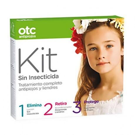 Otc Antipiojos Kit Sin Insecticida (Loción Sin Isect. + Acondicionador + Spray repelente)