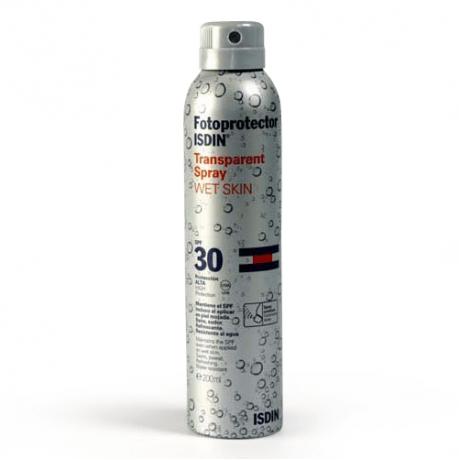 Isdin Fotoprotector Wet Skin Spray SPF30 (200 ML).