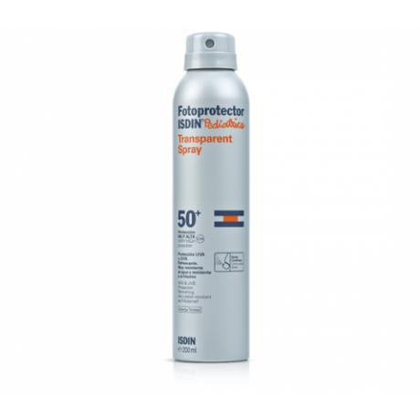 Isdin Pediatrics Fotoprotector Transparent Spray SPF50+ (200 ML).