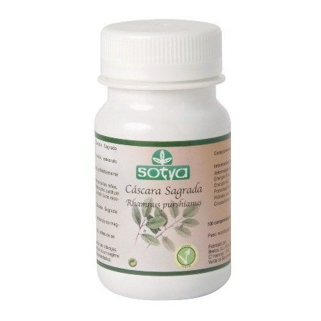 Sotya Cascara Sagrada (100 compridos de 500 mg.)