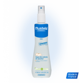Mustela Agua de Colonia sin alcohol (200 ML).