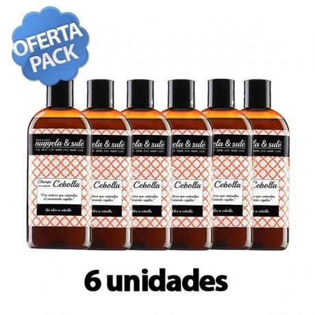 Pack 6 Nuggela & Sule Champu de Cebolla Anticaida (250 ml. x 6 ud.)