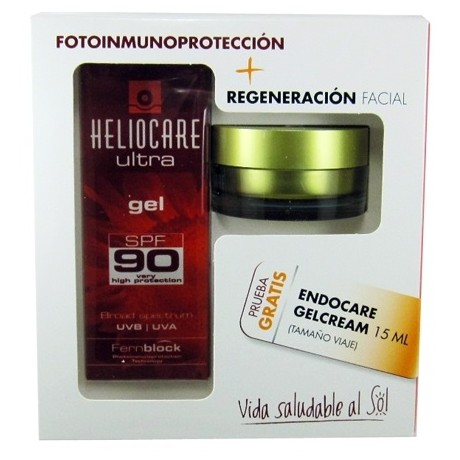 Heliocare Ultra Gel 90 (50 ml) + Regalo Gelcream (15 ml.)