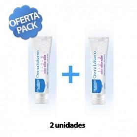 Mustela Pack Duplo Crema Balsamo (2 x 100 ml.)