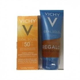 Vichy Ideal Soleil Crema Untuosa Perfeccionadora de Piel SPF50 (50 ml.)+ After Sun (100 ml.)