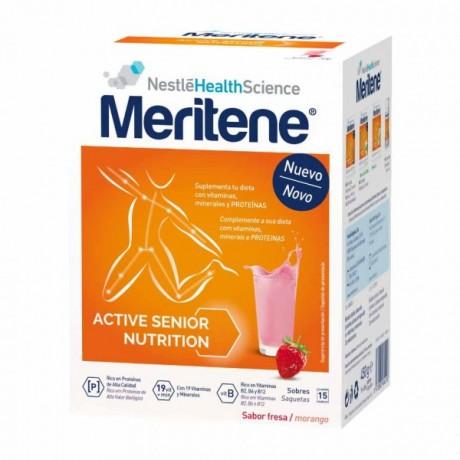 Meritene Nestle Sabor Fresa (15 sobres)