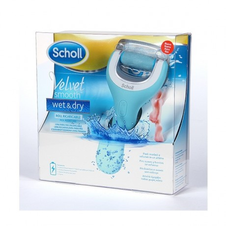 Dr Scholl Velvet Smooth Wet & Dry Lima Recargable