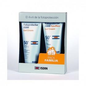 Isdin Pack Familia (Fotoprotector Isdin Pediatrics Gel Cream SPF50 (150 ml.) + Fotoprotector Isdin Gel Cream SPF 50 (200 ml.))