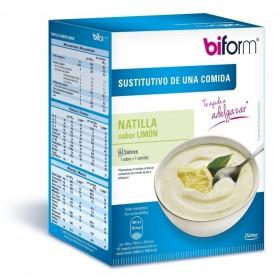 Biform Natilla Sabor Limón Dietisa (6 sobres de 60 gramos)