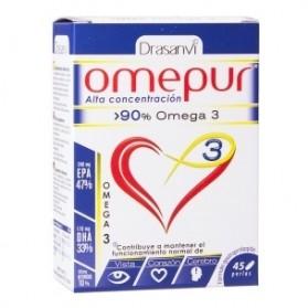Drasanvi Omepur Omega 3 (45 capsulas)