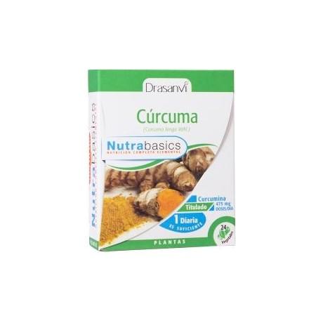Drasanvi Curcuma Nutrabasics (24 capsulas vegetales de 475 mg)