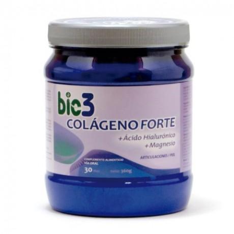 Bio3 Colageno Forte Acido Hialuronico Magnesio (360 g)
