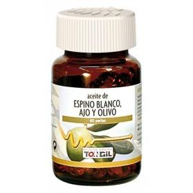 Tongil Aceite de Espino Blanco, Ajo y Olivo (60 perlas de 700 mg)