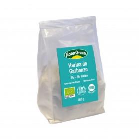 Harina de Garbanzo NaturGreen Bio Sin Gluten (350 g )