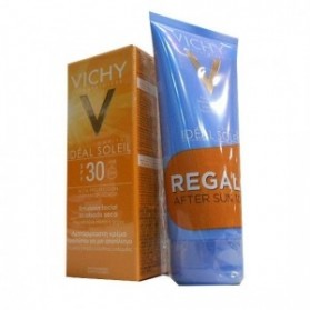 Vichy Ideal Soleil Bronze Gel Fluido Hidratante SPF 30 (50 ml.) + After Sun Ideal Soleil (100 ml.)