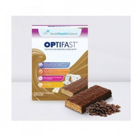 Optifast Barritas Sabor Cappuccino Nestle (6 x 60 gr.)