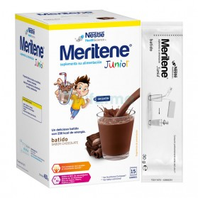 Meritene Junior Chocolate Batido (15 sobres de 30 gramos)