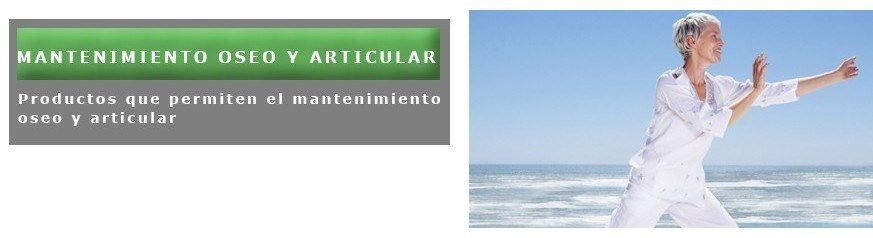 MANTENIMIENTO OSEO Y ARTICULAR